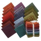 Woolies Flannel Colors Fat Quarter Bundle