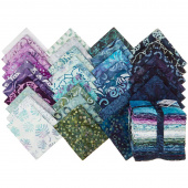 Coastal Getaway Batiks Fat Quarter Bundle