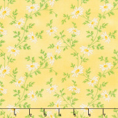 Fresh as a Daisy - Miniature Daisies Sunshine Yardage