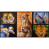 Nature Studies - Animals Wild Digitally Printed Panel
