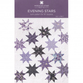 Evening Stars Quilt Pattern by Missouri Star