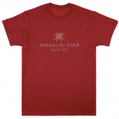 Missouri Star Bling Cardinal Red T-Shirt - Small