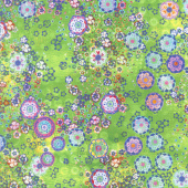 Starlight & Splendor - Garden Glow Peridot Digitally Printed Yardage
