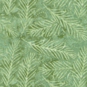"Wilmington Essentials - Delicate Fronds Light Green 108"" Wide Backing"