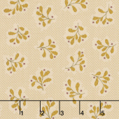 Wit & Wisdom - Leaf Clusters Cream Yardage