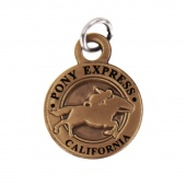 Pony Express California State Collectible Charm