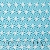 Snowfall - Snowflakes Tide Yardage