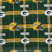NFL - Green Bay Packers Flannel Yardage