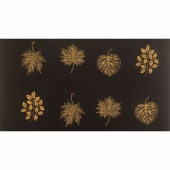 Tonga Treats Batiks - Chai Large Spaced Leaves Panel