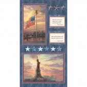 America - Patriotic Panel