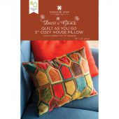 "Quilt As You Go 3"" Cozy House Pillow Pattern by Missouri Star"