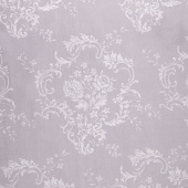 "Majestic - Damask Gray 108"" Wide Backing"