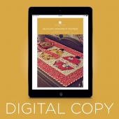Digital Download - Hexagon Ornament Table Runner Quilt Pattern by Missouri Star