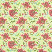 Natural Beauty - Field Folly Lime Yardage