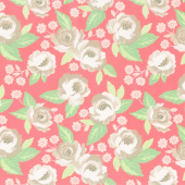 Bloomington - Faded Blooms Rose Yardage