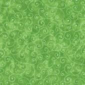 Moda Marble Swirls - Green Yardage