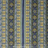 La Provence - Stripes Blue Yardage