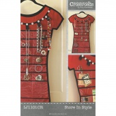 Crossroads Store in Style Pattern