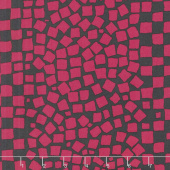Kaffe Fassett Collective Spring 2019 - Bright Chips Charcoal Yardage