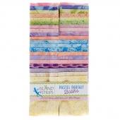 Pastel Parfait Batiks Strips