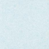 Alphonse Mucha - Flowers Blue Digitally Printed Yardage