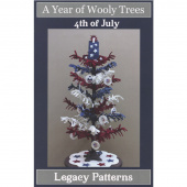 A Year of Wooly Trees Pattern - July 4th