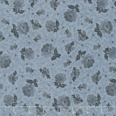 Collection for a Cause - Compassion Tonal Floral Chambray Yardage