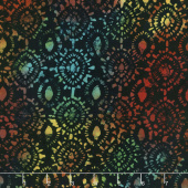 "108"" Wide Back Batik - Medallion Rainbow Backing"