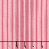 Wild Rose - Tonal Stripe Pink Flannel Yardage