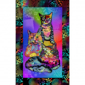 Crazy for Cats - Kitty Power Multi Panel