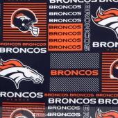 NFL - Denver Broncos Cotton Yardage