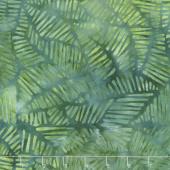 Ivy League Batiks - Stylized Puzzle Green Yardage