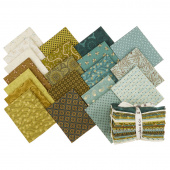 Sage & Sea Glass Fat Quarter Bundle