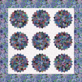 Missouri Star Kaffe Fassett Collective Dark Checkered Dresden Kit