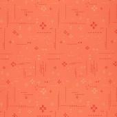 Decostitch - Elements Red Desert Orange Yardage