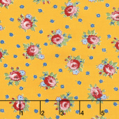 Sweet Harmony - Apron Flower Yellow Yardage