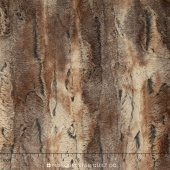 "Cuddle Luxe - Red Fox Amber/Taupe 60"" Minky Yardage"