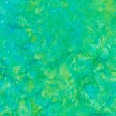 Sweet Hearts Batiks - Swirl Sun Leprechaun Yardage