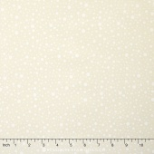 Wilmington Essentials - Cookies & Cream Dotty Dots Cream Yardage