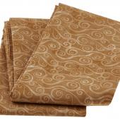 Wilmington Essentials - Swirly Scroll Light Brown 3 Yard Cut