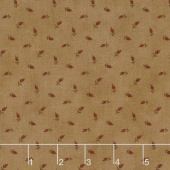 Sycamore - Wheat Sand Red Yardage
