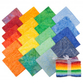 Tonga Treats Batiks - Colorwheel Rainbow Fat Quarter Bundle