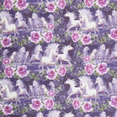 Unicorns - Unicorns Running Multi Yardage