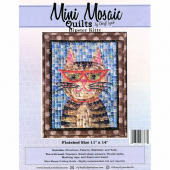 Mini Mosaic Quilts Hipster Kitty Pattern