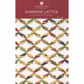 Sunshine Lattice Quilt Pattern by Missouri Star