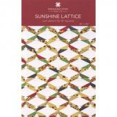 Sunshine Lattice Quilt Pattern by Missouri Star