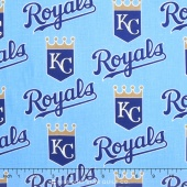 MLB Major League Baseball - Kansas City Royals Allover Yardage
