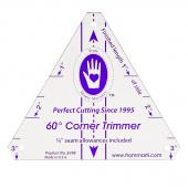 60-Degree Corner Trimmer Template