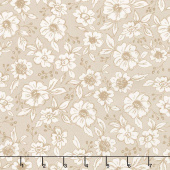 Bloomington - Flower Shop Taupe Yardage