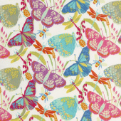 Butterfly Dance - Butterfly Dance Cream Yardage